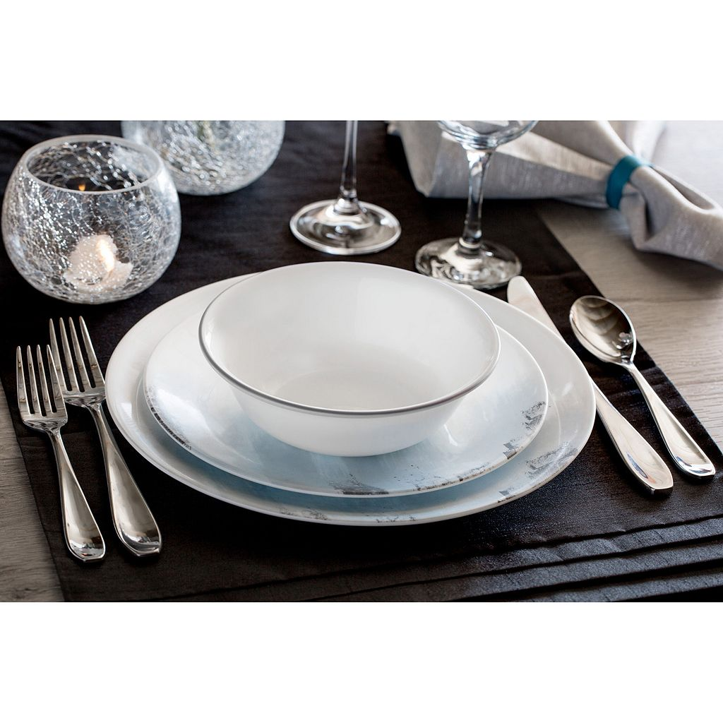 Corelle Tranquil Reflection 12-pc. Dinnerware Set