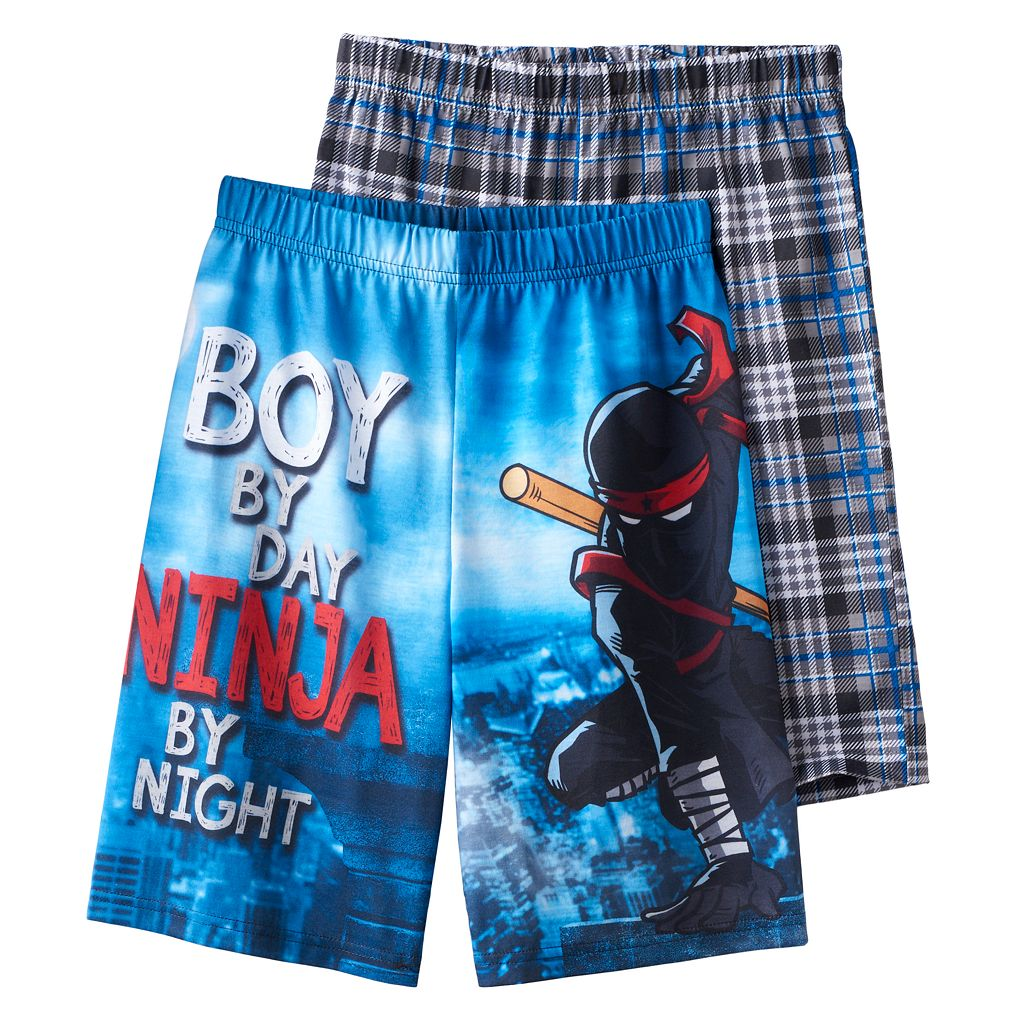 Boys Jellifish 2-Pack Sleep Shorts