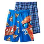 Boys Jelli Fish 2-Pack Sleep Shorts