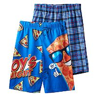 Boys Jelli Fish 2-Pack Sleep Shorts