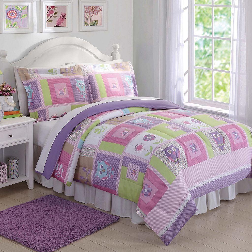 Happy Owls Comforter Set