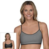 Fruit of the Loom Bras: 2-pack Breathable Mesh Bralette 2DBMBRA