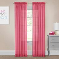 Pairs To Go Victoria Voile Window Curtain Set
