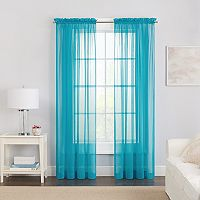 Pairs To Go 2-pack Victoria Voile Curtain