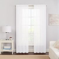 Pairs To Go 2-pack Victoria Voile Window Curtain
