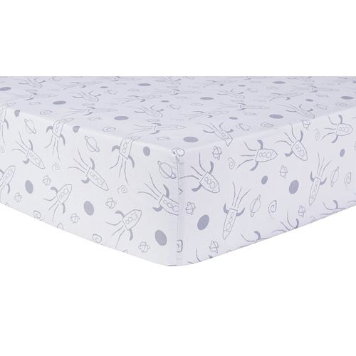 Trend Lab Galaxy Fitted Crib Sheet