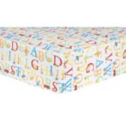 "Dr. Seuss ""ABC"" Fitted Crib Sheet by Trend Lab"