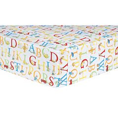 Dr. Seuss 'ABC' Fitted Crib Sheet by Trend Lab