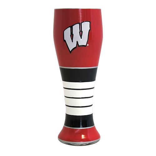 Boelter Wisconsin Badgers Artisan Pilsner Glass