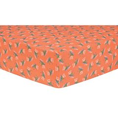 Dr. Seuss 'Green Eggs & Ham' Fitted Crib Sheet by Trend Lab