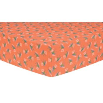 "Dr. Seuss ""Green Eggs & Ham"" Fitted Crib Sheet by Trend Lab"