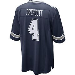 Men's Nike Dallas Cowboys Dak Prescott Game NFL Replica Jersey