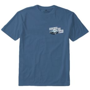 """Men's Newport Blue """"Still Plays With Cars"""" Tee"""