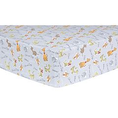Dr. Seuss 'What Pet Should I Get?' Pet Sayings Fitted Crib Sheet by Trend Lab