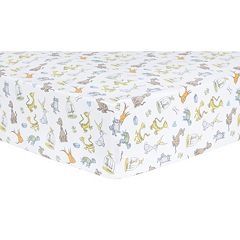 Dr. Seuss 'What Pet Should I Get?' Fitted Crib Sheet by Trend Lab