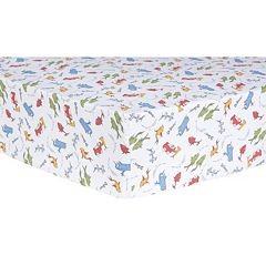 Dr. Seuss 'One Fish, Two Fish' Fitted Crib Sheet by Trend Lab