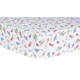 """Dr. Seuss """"One Fish, Two Fish"""" Fitted Crib Sheet by Trend Lab"""