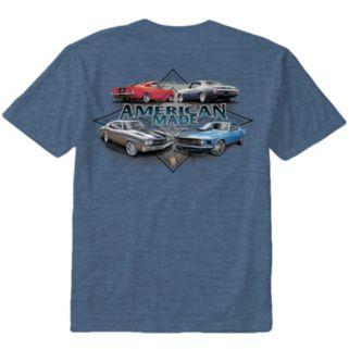 "Men's Newport Blue ""American Made Street Supreme"" Tee"