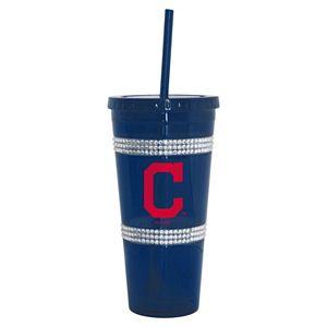 Boelter Cleveland Indians Double Bling Tumbler