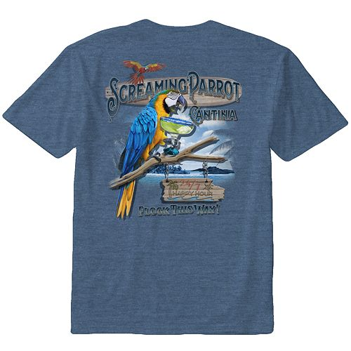 Screaming Cockatoo Mens Raglan T Shirt