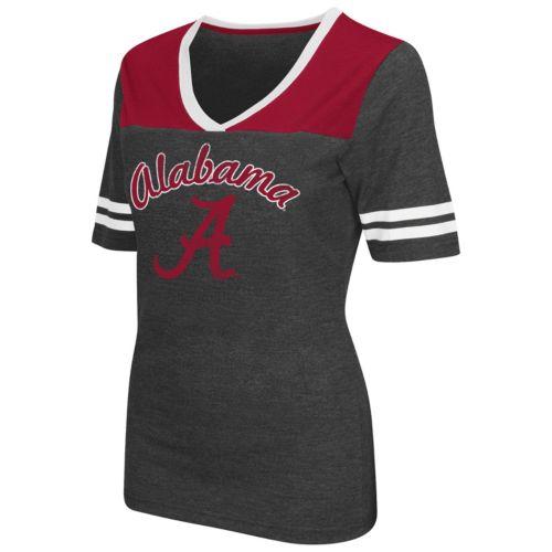 Women's Campus Heritage Alabama Crimson Tide Twist V-Neck Tee