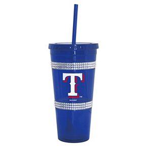 Boelter Texas Rangers Double Bling Tumbler