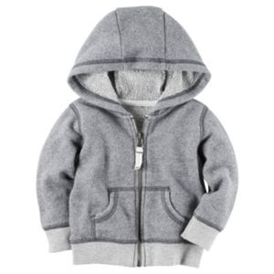 Baby Boy Carter's French Terry Zip-Front Hoodie