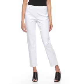 Women's Napa Valley Slimming Solution Straight-Leg Dress Pants