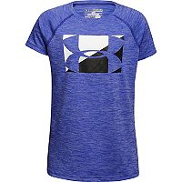 Girls 7-16 Under Armour Novelty Girls Logo Tee
