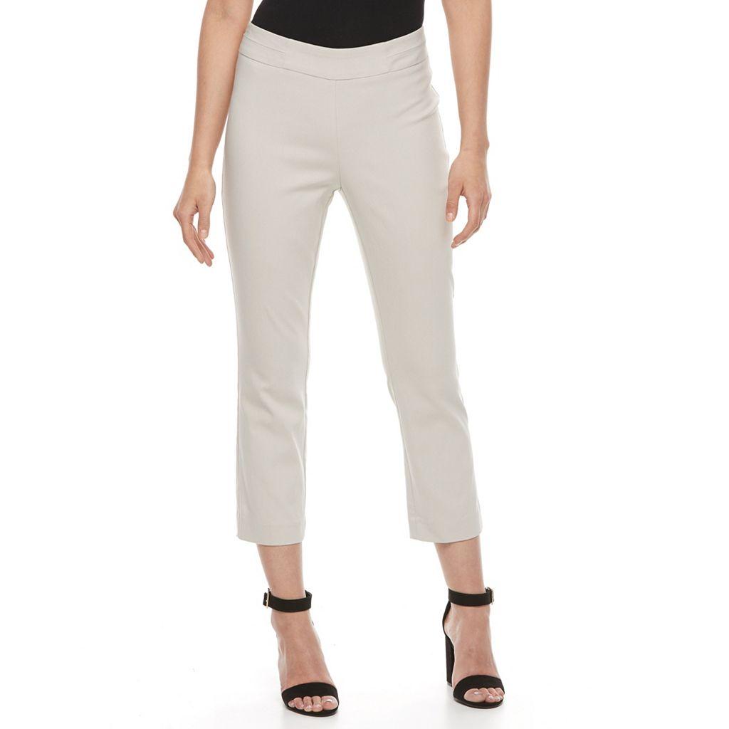 Women's Napa Valley Pull-On Slim-Leg Capris