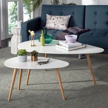 Safavieh Nesting Coffee Table 2-piece Set
