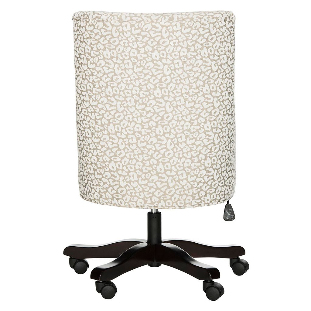 Safavieh Leopard Print Swivel Desk Chair