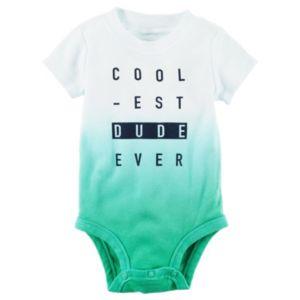 Baby Boy Carter's Ombre Bodysuit