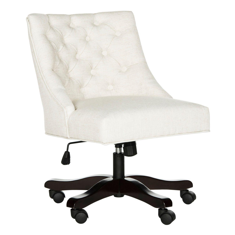 Safavieh Button Tufted Swivel Desk Chair