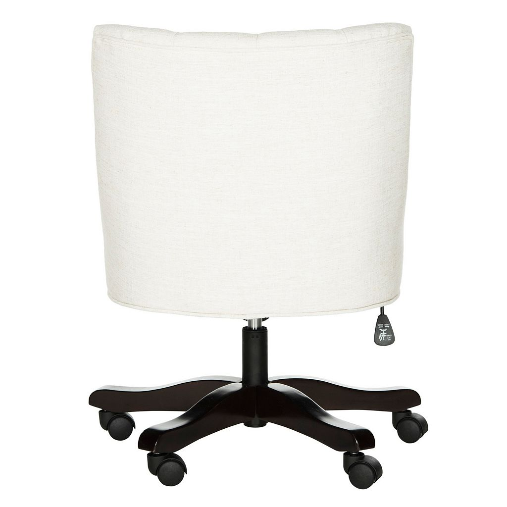 Safavieh Button-Tufted Swivel Desk Chair
