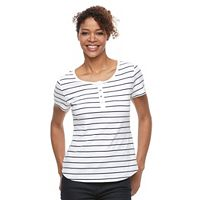 Women's Croft & Barrow® Henley Tee