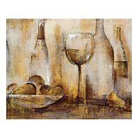 Vin Blanc II Canvas Wall Art