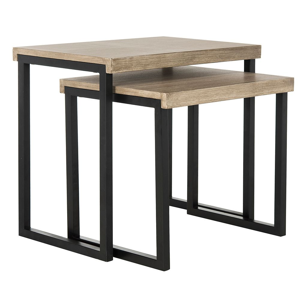 Safavieh Contemporary Nesting End Table 2-piece Set