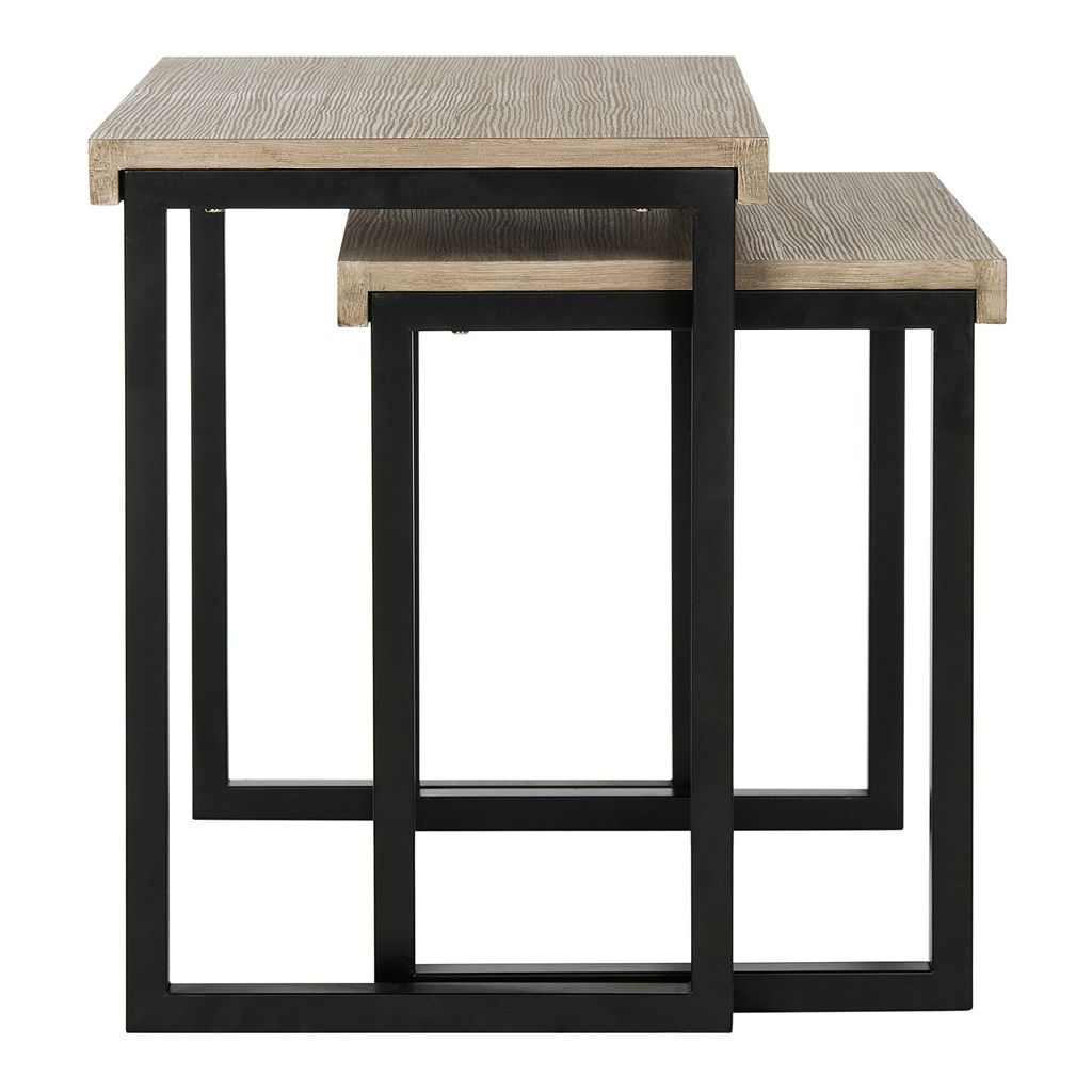 Safavieh Contemporary Nesting End Table 2-piece Set