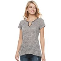 Women's Juicy Couture Cutout Embellished Tee