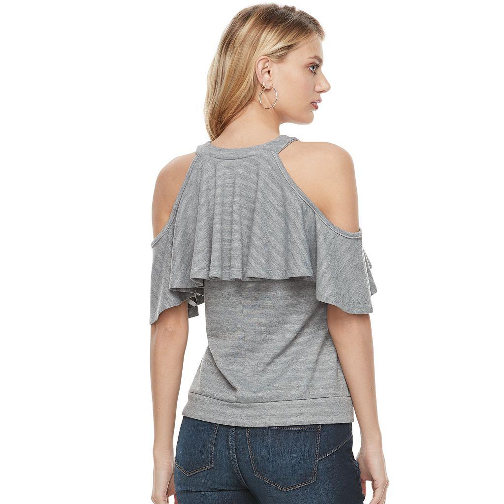 Women's Juicy Couture Cold-Shoulder Sweatshirt