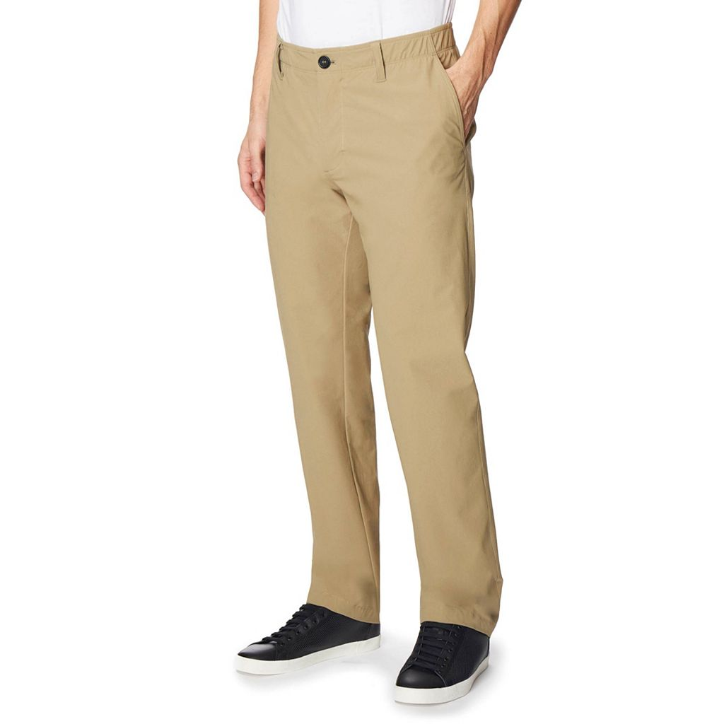 Men's CoolKeep Flex Tech Classic-Fit Stretch Canvas Pants
