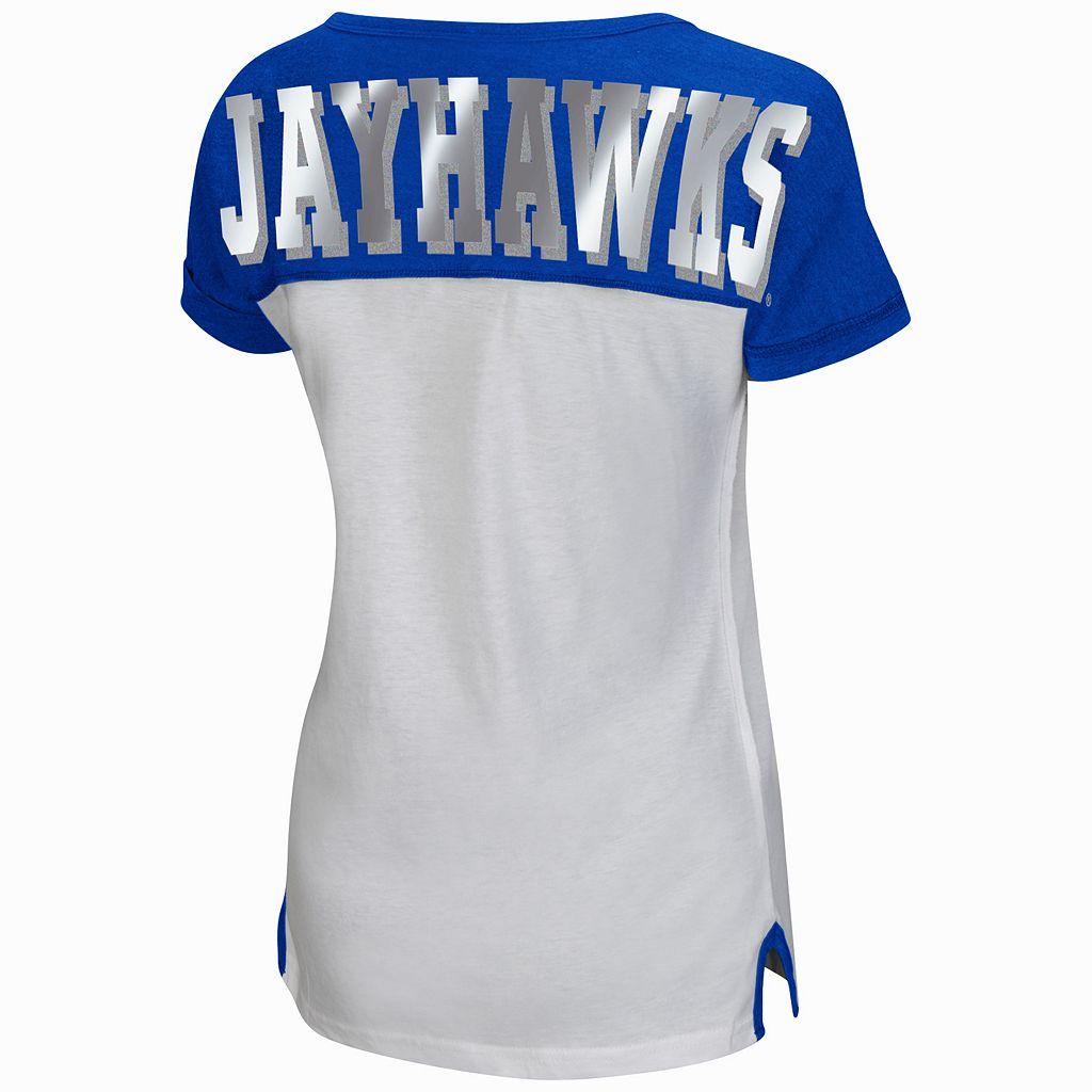 Women's Campus Heritage Kansas Jayhawks Get Spirited Tee