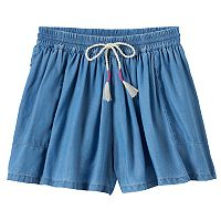 Girls 4-10 SONOMA Goods for Life™ Flowy Denim Shorts