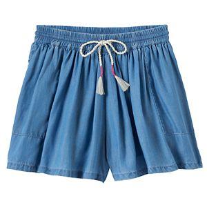 Girls 4-10 SONOMA Goods for Life™ Flowy Denim Shorts
