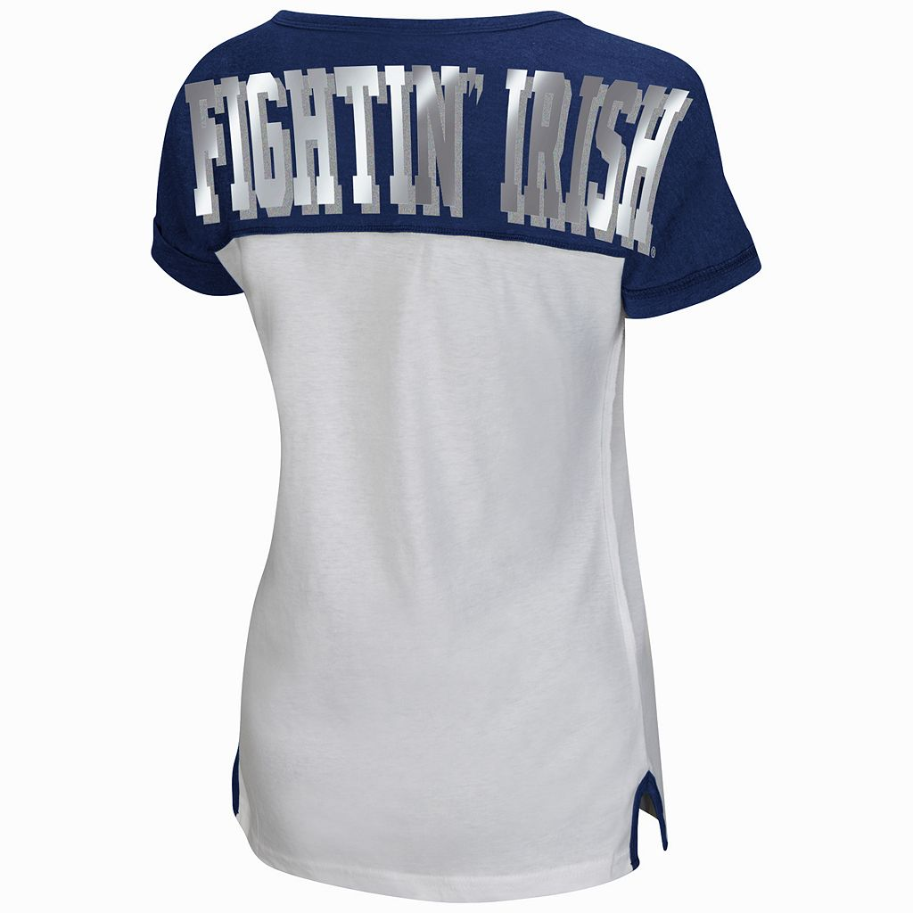 Women's Campus Heritage Notre Dame Fighting Irish Get Spirited Tee