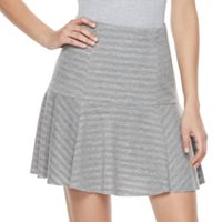 Women's Juicy Couture Shadow-Stripe Flounce Skirt