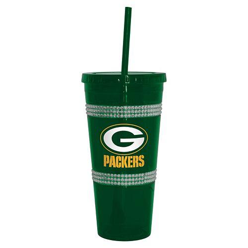 Boelter Green Bay Packers Double Bling Tumbler