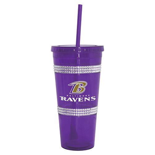 Boelter Baltimore Ravens Double Bling Tumbler