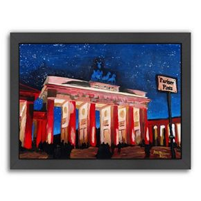 Americanflat Berlin 2 Stars Framed Wall Art